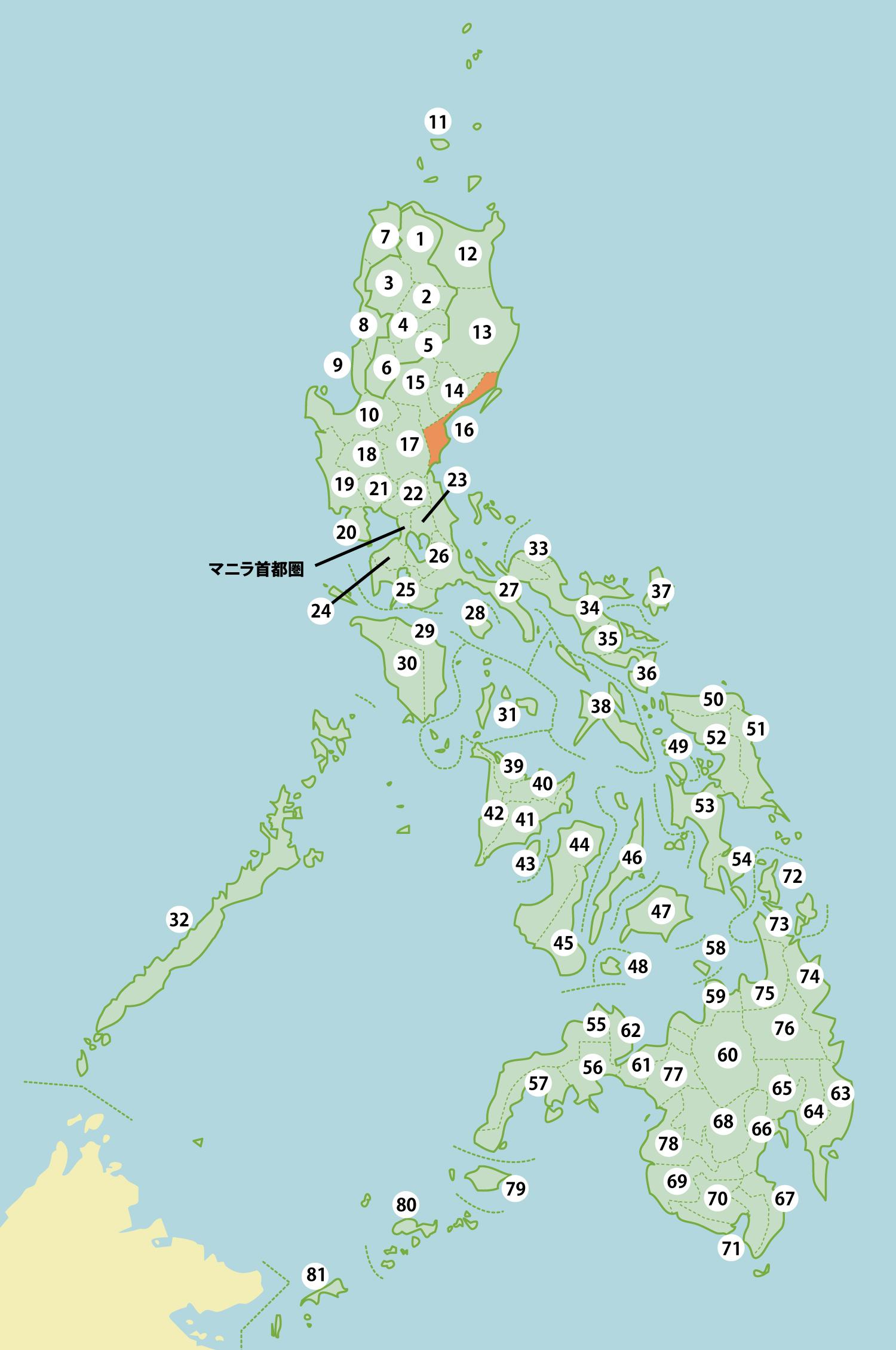 フィリピンの工業団地リスト