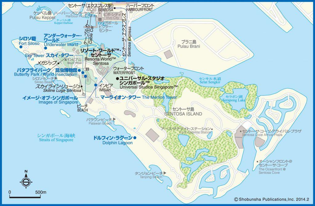 06セントーサ島map