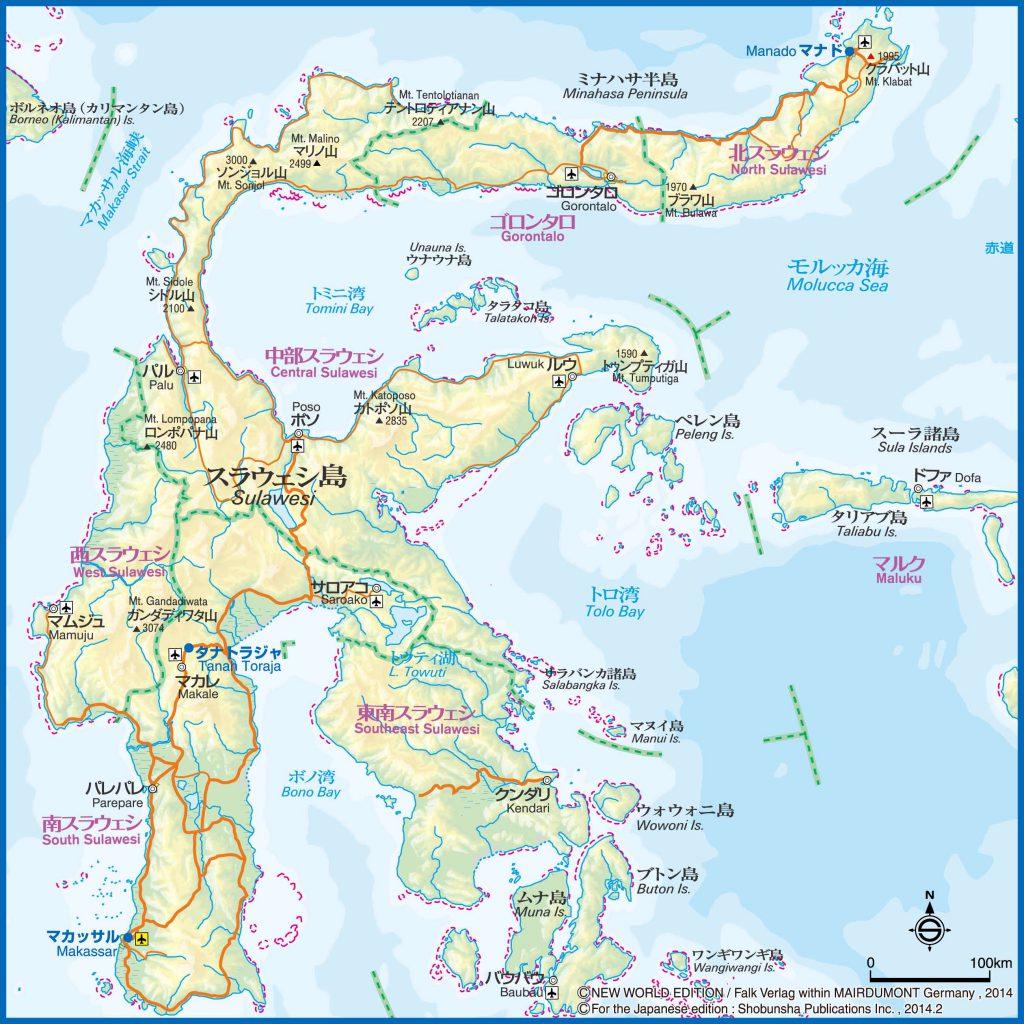 6スラウェシ島map