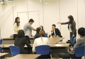 Reportbusiness japanese class for asean students asean japan centre of visiting a japanese company to learn the way of greetings and exchange business cards participants were keen to study japanese business manners for m4hsunfo