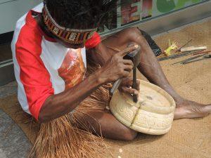 伝統木彫りデモンストレーション