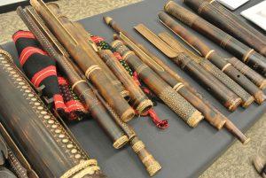 カリンガ族の竹楽器