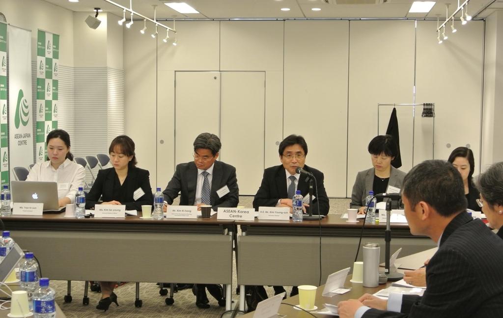 韓国アセアンセンターの代表団