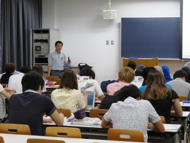 Lecture_by_Nick_san@Aoyama_Gakuin_Univ